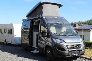 Wohnmobil HymerCar Free 602 mit Aufstelldach